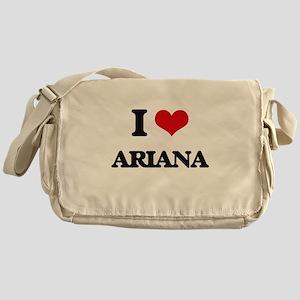 I Love Ariana Messenger Bag