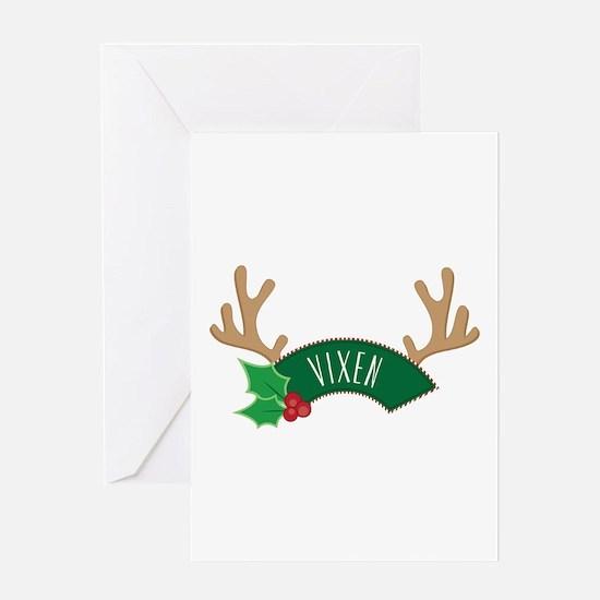 Vixen Greeting Cards