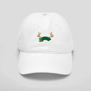 Reindeer Antler Tags Baseball Cap