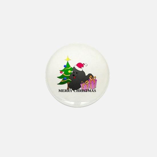 Poodle Mini Button (10 pack)