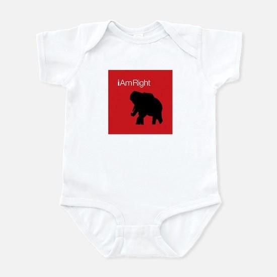i Am Right. v3 Infant Bodysuit