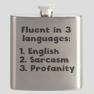 Fluent In 3 Languages Flask