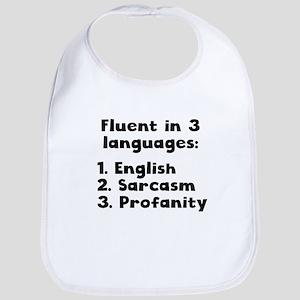 Fluent In 3 Languages Bib