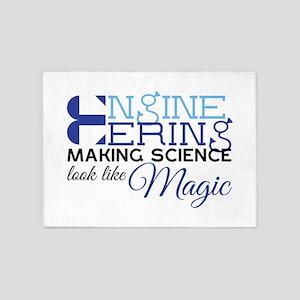 Science Magic 5'x7'Area Rug