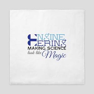 Science Magic Queen Duvet