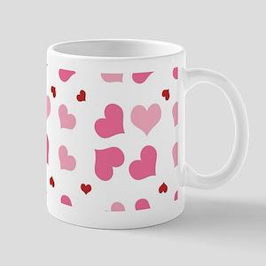 Valentine Sweet Hearts or XOXO with Swe Mug