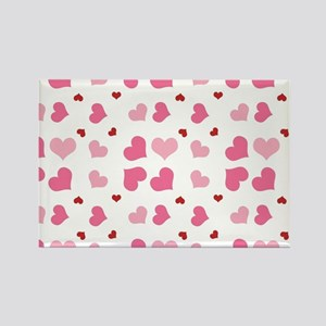 Valentine Sweet Hearts or XOXO wi Rectangle Magnet