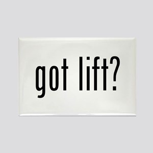 got lift? Rectangle Magnet