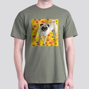 Love Pug Dark T-Shirt