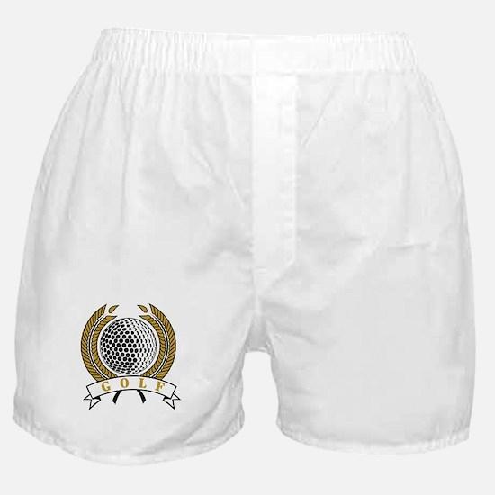 Classic Golf Emblem Boxer Shorts