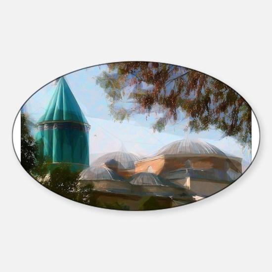 Mevlana Rumi Mosque - Sufi Decal