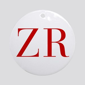 ZR-bod red2 Ornament (Round)
