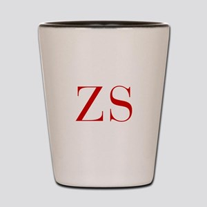 ZS-bod red2 Shot Glass