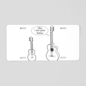 Darth_Guitar Aluminum License Plate