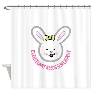 Jack Rabbit Shower Curtains