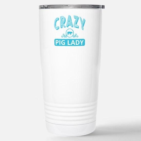 Crazy Pig Lady Mugs