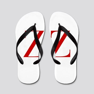 ZZ-bod red2 Flip Flops