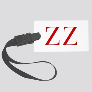 ZZ-bod red2 Luggage Tag