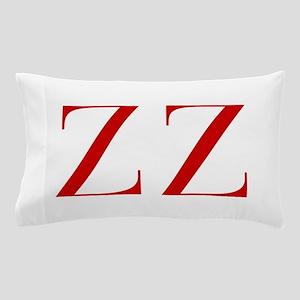 ZZ-bod red2 Pillow Case