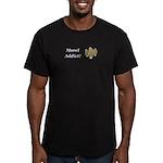 Morel Addict Men's Fitted T-Shirt (dark)