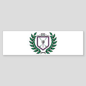 Golf Emblem Bumper Sticker