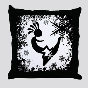 KOKO SNO BO Throw Pillow