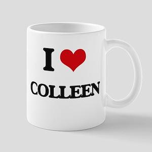 I Love Colleen Mugs