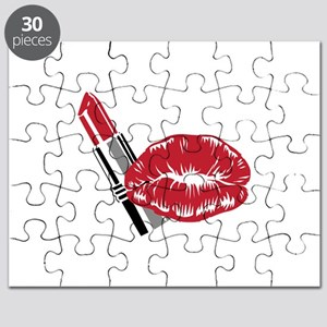 LIPSTICK AND LIPS Puzzle