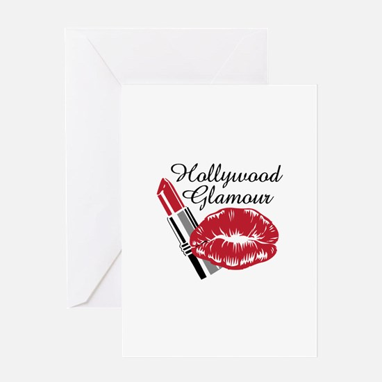 HOLLYWOOD GLAMOUR Greeting Cards