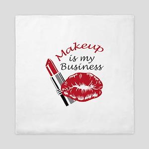 MAKEUP IS MY BUSINESS Queen Duvet
