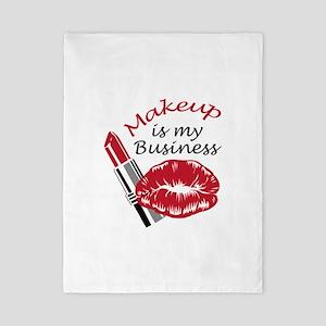 MAKEUP IS MY BUSINESS Twin Duvet