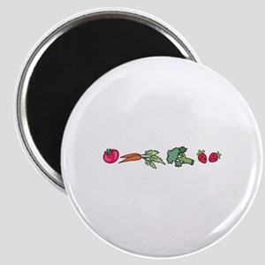 VEGETABLE BORDER Magnets