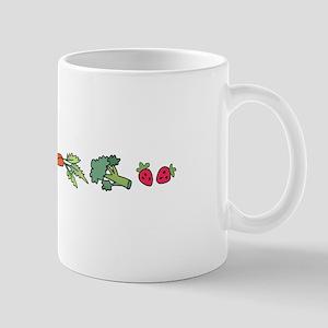 VEGETABLE BORDER Mugs