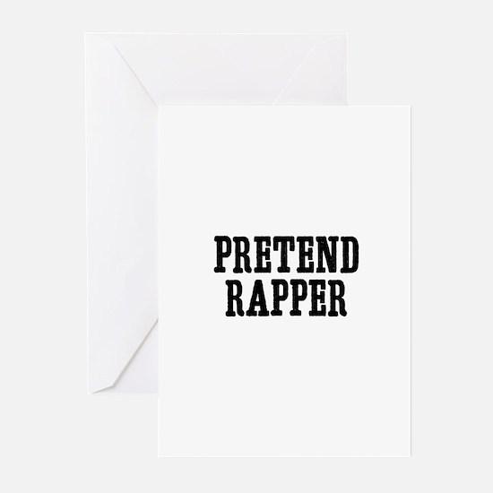 pretend rapper Greeting Cards (Pk of 10)