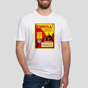 American Merchant Marine Fitted T-Shirt