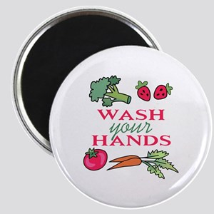 WASH YOUR HANDS Magnets