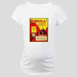 American Merchant Marine Maternity T-Shirt