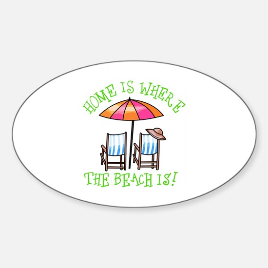 BEACH CHAIRS Decal