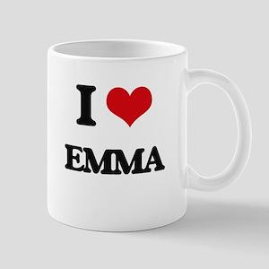 I Love Emma Mugs