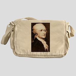 alexander hamilton Messenger Bag