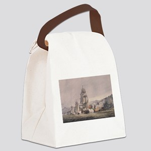 valcour island Canvas Lunch Bag