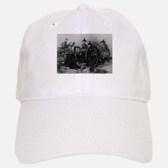 molly pitcher Baseball Baseball Cap