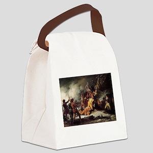 quebec Canvas Lunch Bag