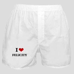 I Love Felicity Boxer Shorts