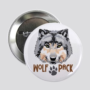"""WOLF PACK 2.25"""" Button"""