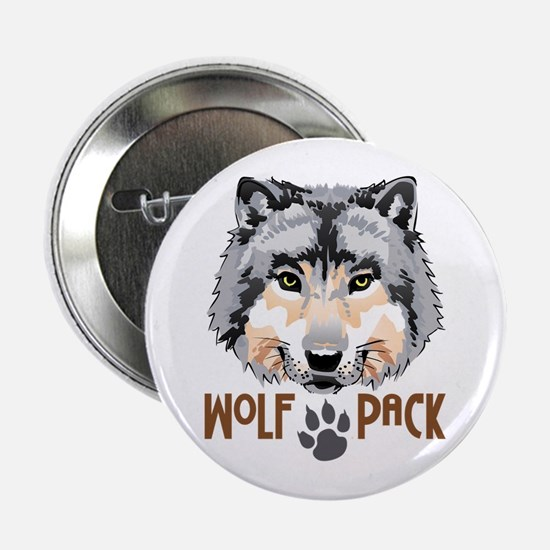 """WOLF PACK 2.25"""" Button (10 pack)"""