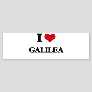 I Love Galilea Bumper Sticker