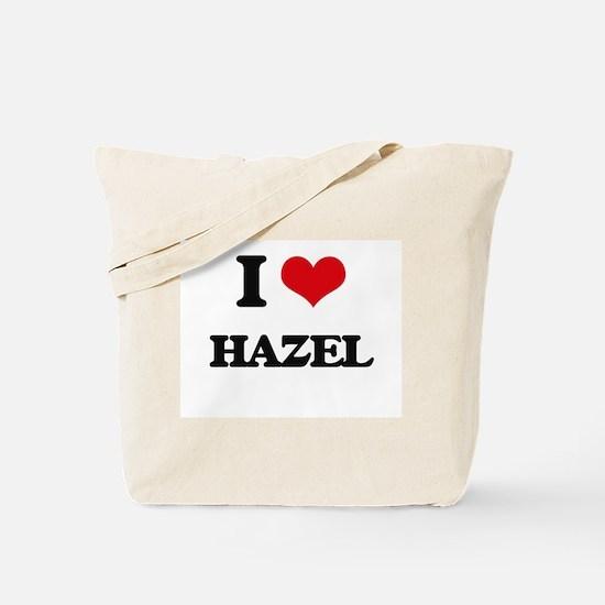 I Love Hazel Tote Bag