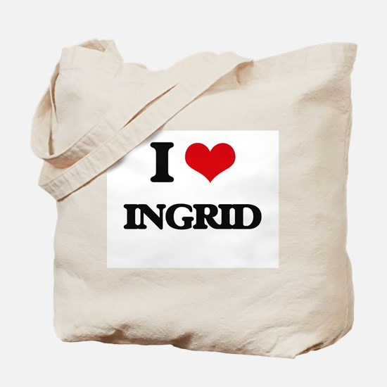 I Love Ingrid Tote Bag