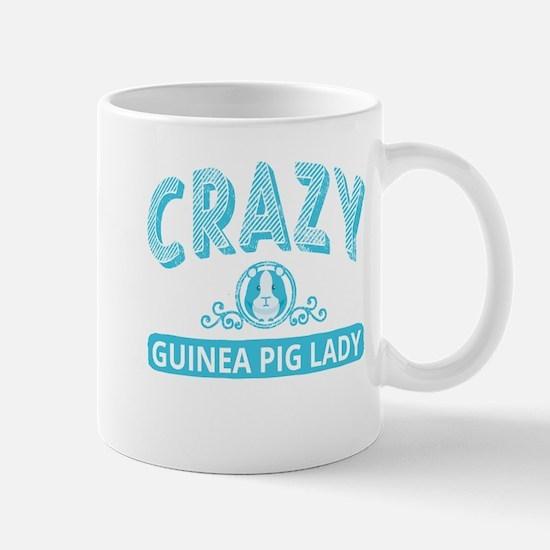 Crazy Guinea Pig Lady Mugs